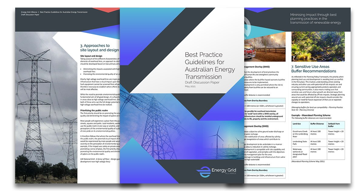 Best Practice Guidelines for Australian Energy Transmission Discussion Paper