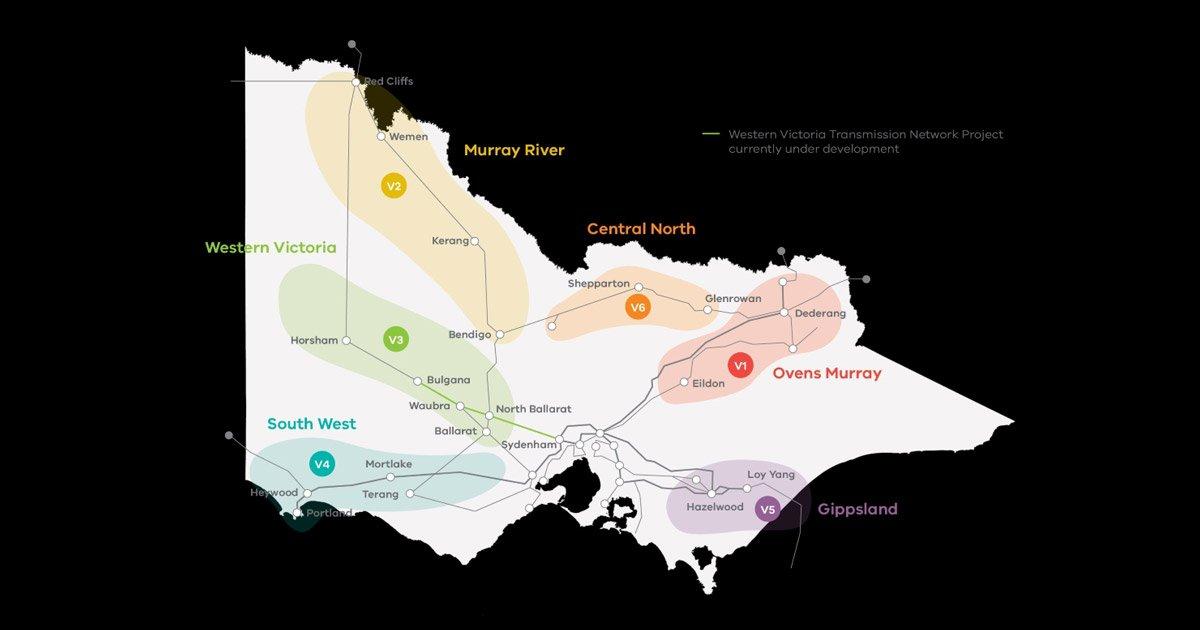 Victorian Renewable Energy Zones